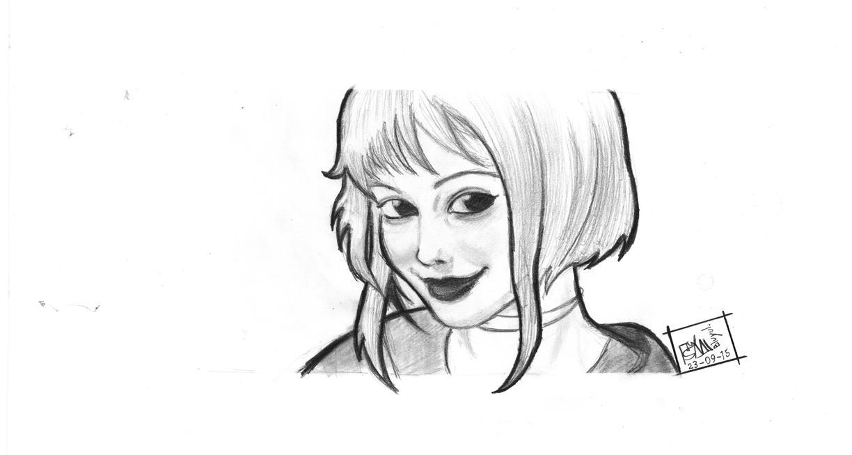 Semi-realystic Manga Ramona Flowers by Bluyul