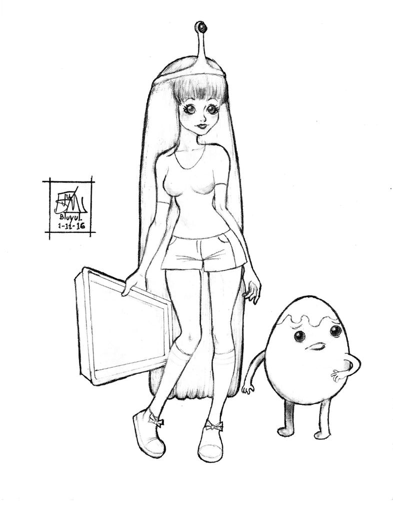 Bubblegum Fan Art by Bluyul