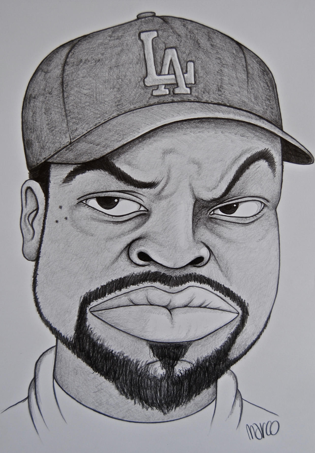 Ice Cube by marcojo on DeviantArt