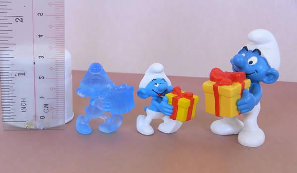 Jokey Smurf Figures Comparison Pic