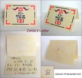 Zelda's Letter Christmas Card