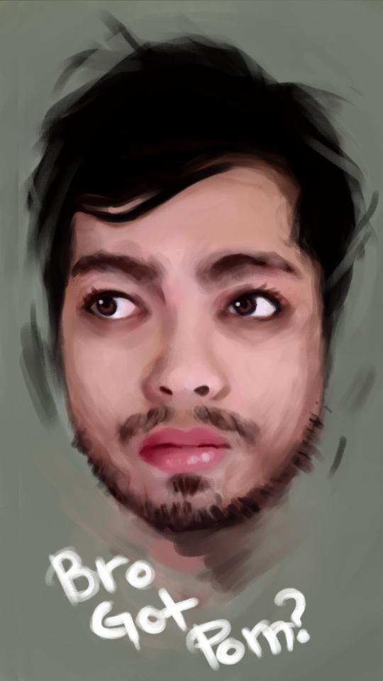 Self Portrait by ritchelbaso