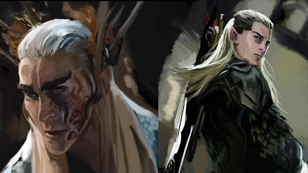 thranduil and legolas relationship questions