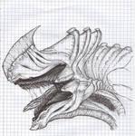 'Alien Dragon' Concept