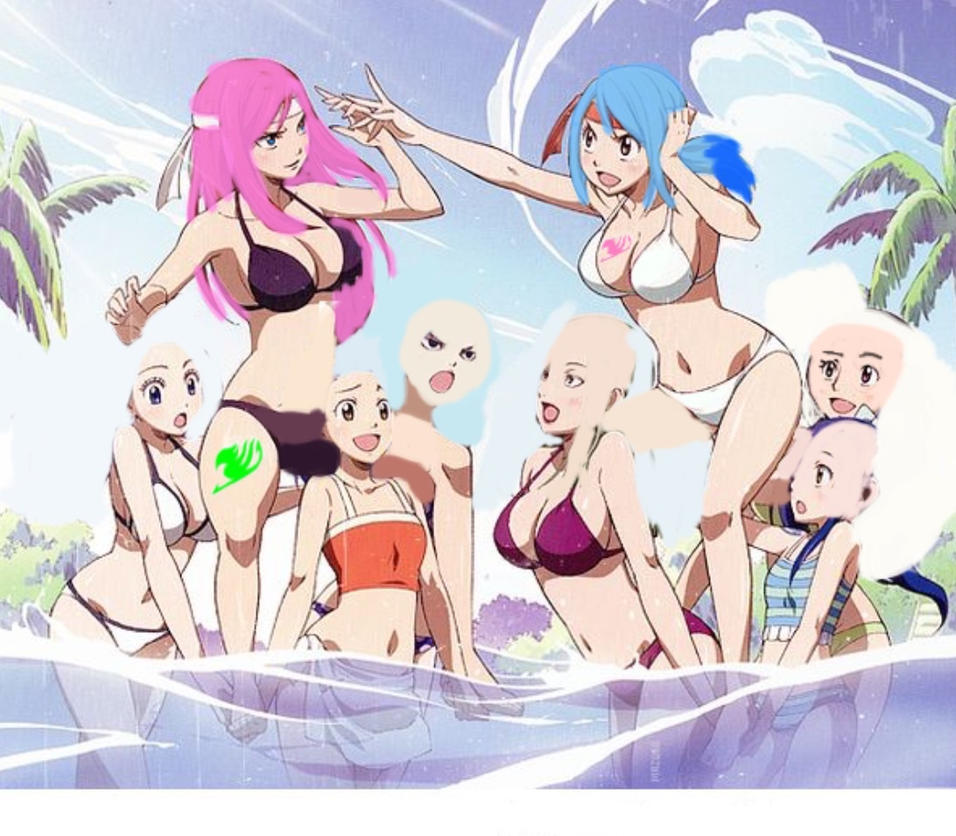 Fairy tail collab 1:beach games(read journal) by Hyperfusion888