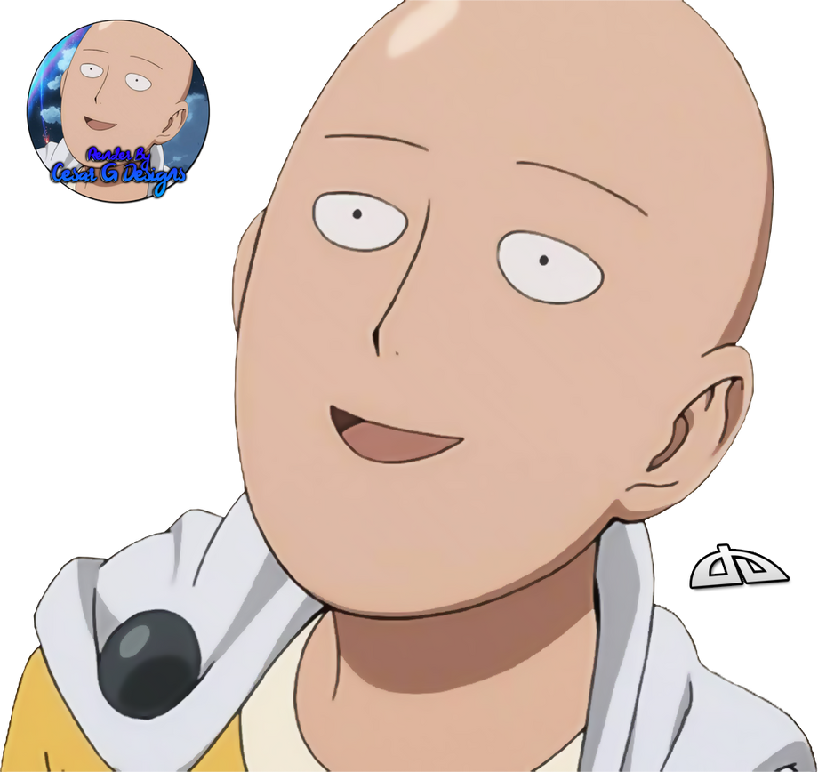 Saitama funny face by cesargdesigns on deviantart - Funny one punch man wallpaper ...