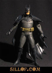 Gaslight Batman by sillof