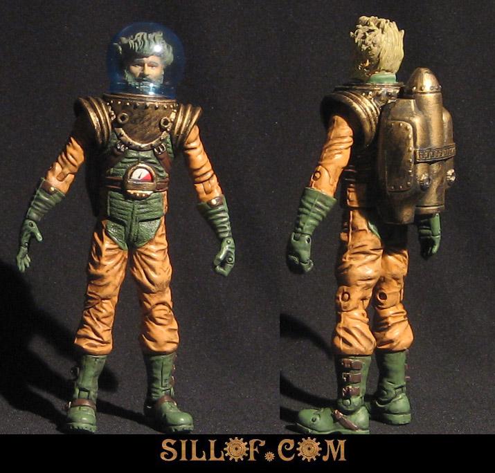 Gaslight Aquaman by sillof