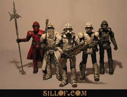 Steam Wars: Shocktroopers by sillof