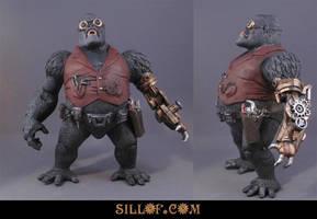 Gaslight LOD: Gorilla Grodd by sillof