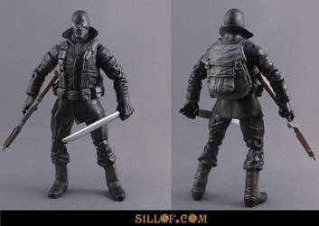 WWII Snake Eyes by sillof