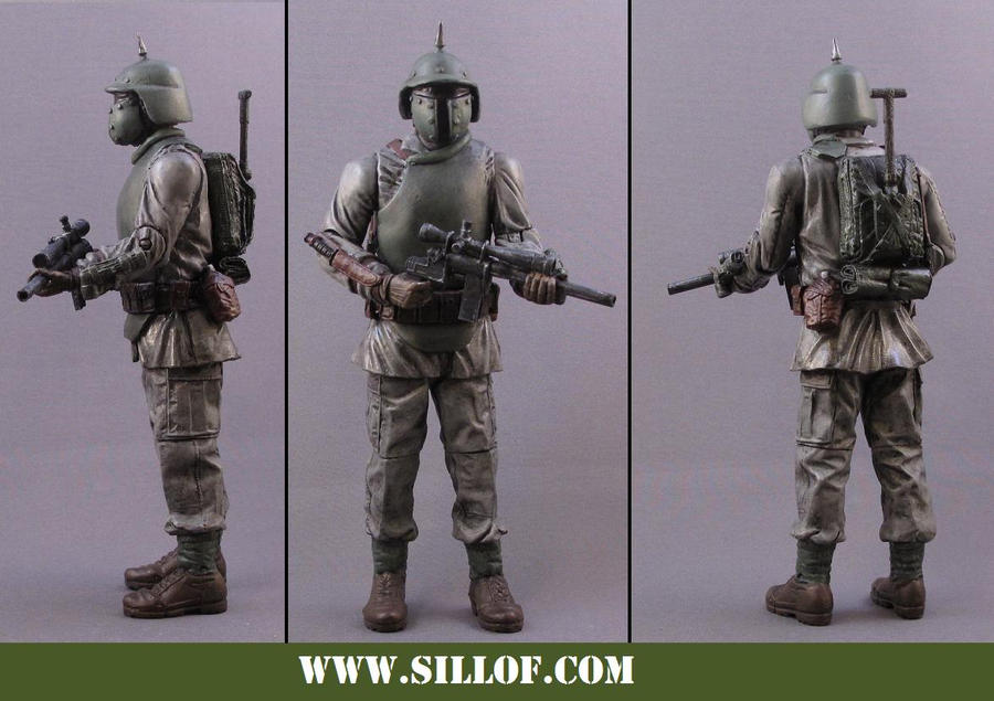 What If WWII Figures Star_Wars_1942__Boba_Fett_by_sillof
