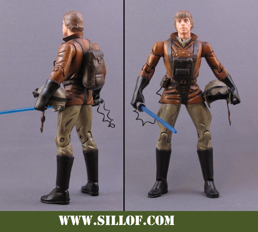 What If WWII Figures Star_Wars_1942__Luke_Skywalker_by_sillof