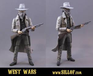 West Wars henchmen-deputies by sillof