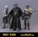 Western Wars - Villains by sillof