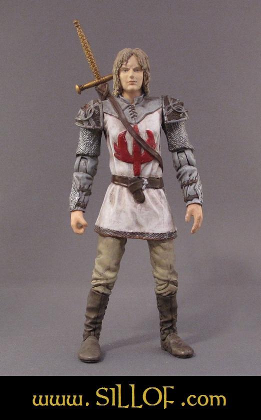 Long Ago... Lukos Swordbearer by sillof
