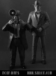 Noir Wars: Reporters by sillof