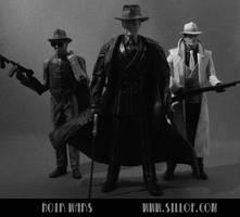 Noir Wars: Bad Guys by sillof