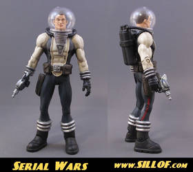 Serial Wars: Capt. Hawk Solar