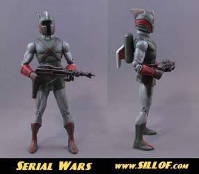 Serial Wars: Braxton Flash by sillof