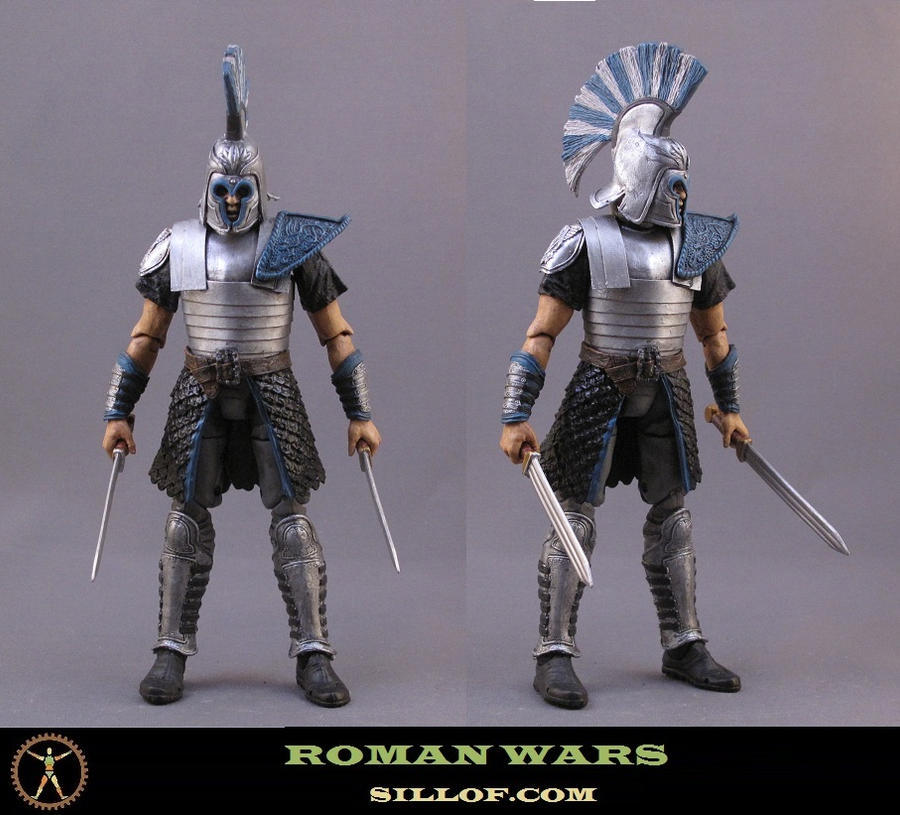 Roman Wars: Captain Recksus by sillof
