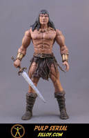 Pulp Serial:  Conan by sillof