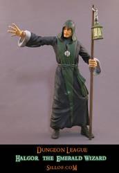 Dungeon League - Halgor the Emerald Wizard