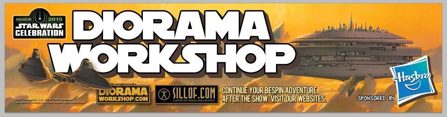 Star Wars Celebration 7 - Diorama Workshop
