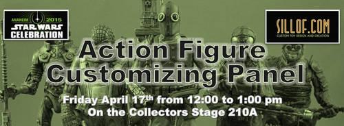 Star Wars Celebration -Custom Action Figure Panel