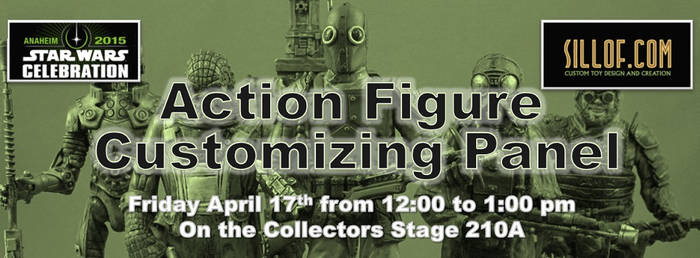 Star Wars Celebration -Custom Action Figure Panel