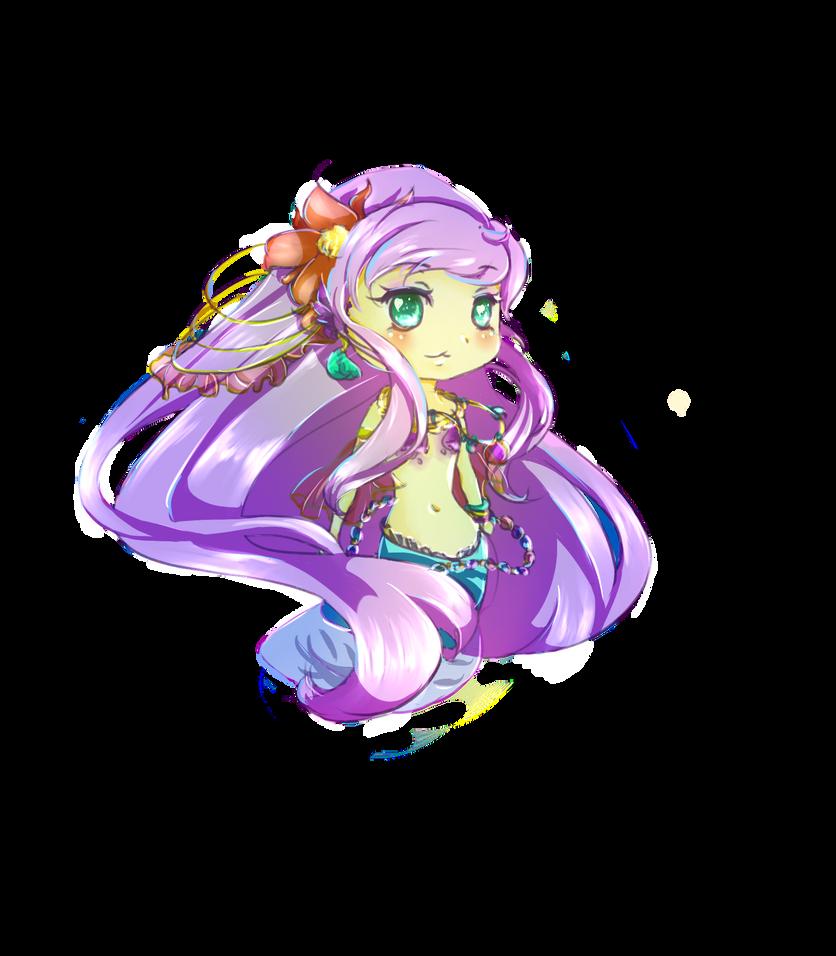Tiny Mermaid by KittyKatDa