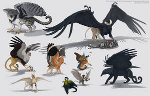 Griffins by Anisis