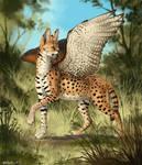 Hunter of savanna