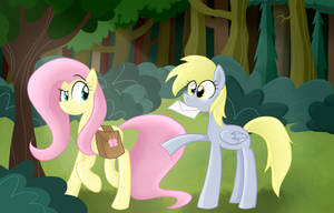 Why did you follow me into the forest? by RozzyIsDizzy