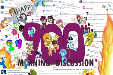 Happy 900th Morning Discussion by RozzyIsDizzy