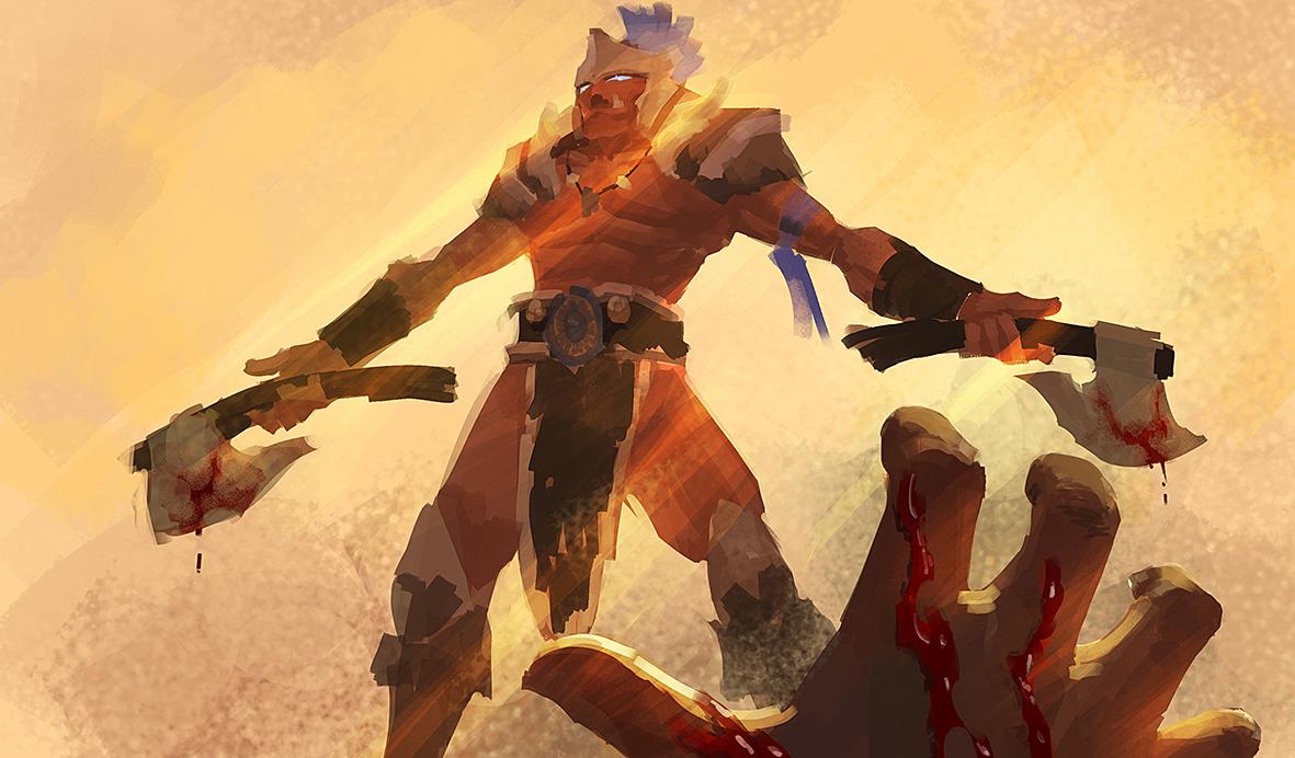 DOTA2 Troll Warlord-Jah`rakal by bwcc110 on DeviantArt