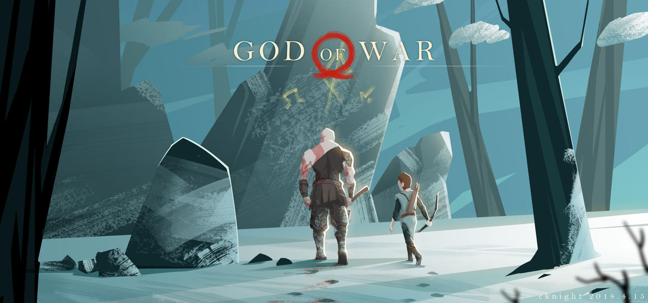 GOD OF WAR 4.15 by bwcc110
