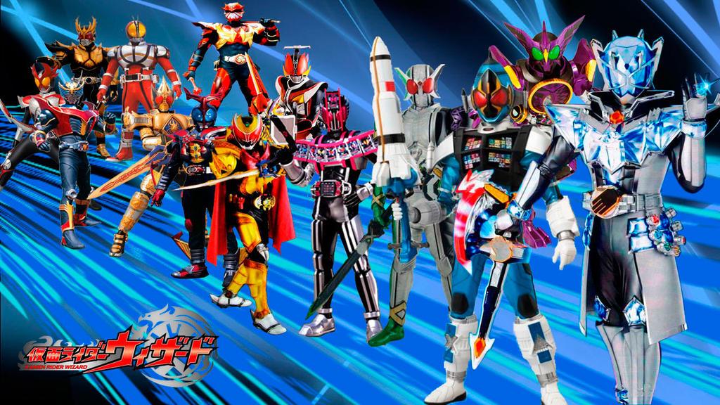 Kuuga-Wizard-Heisei-Era-Final-Form-Riders by CJHibari02 on DeviantArt