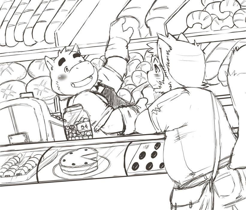 Bakery Sketch by FatYogi