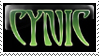 Cynic Stamp by KGarrett