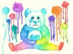Rainbow Panda of Love