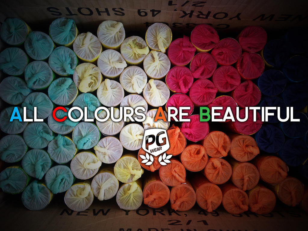 All Colours Are Beautiful by KristeLynx