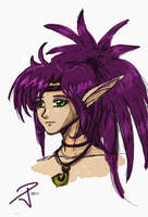 Young Elf by FrozenDreamer