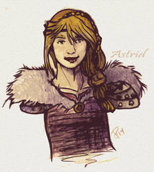 Astrid by FrozenDreamer