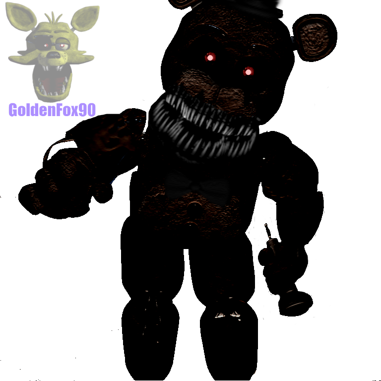 Nightmare Old Freddy by GoldenFox90