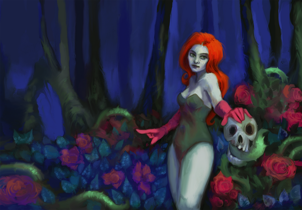 Poison Ivy by IfuckenLUVWHORES