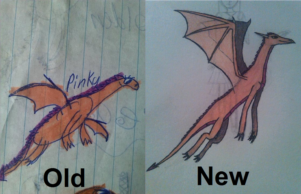 drawing_comparison__pinky_the_dragon_by_