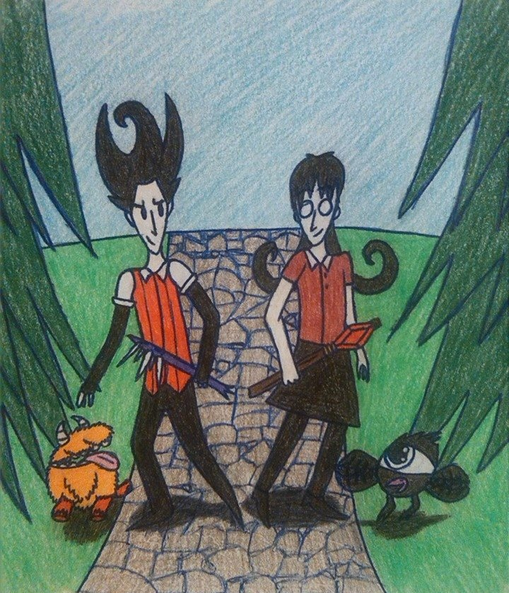 the_don_t_starve_duo_by_dragonmage156-da