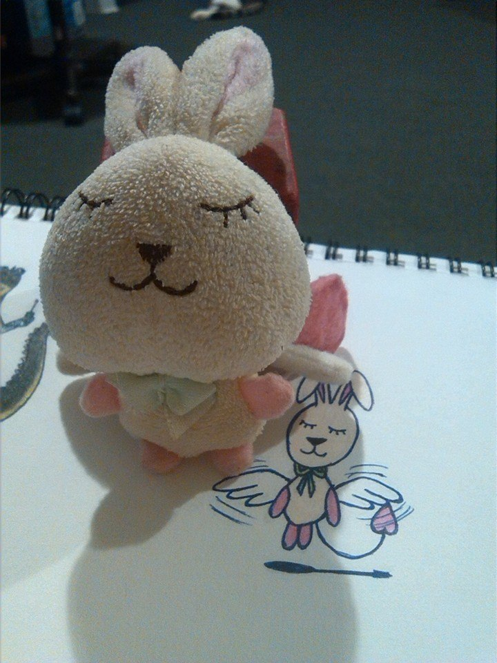 dream_bunny__real_vs_drawing__by_dragonm