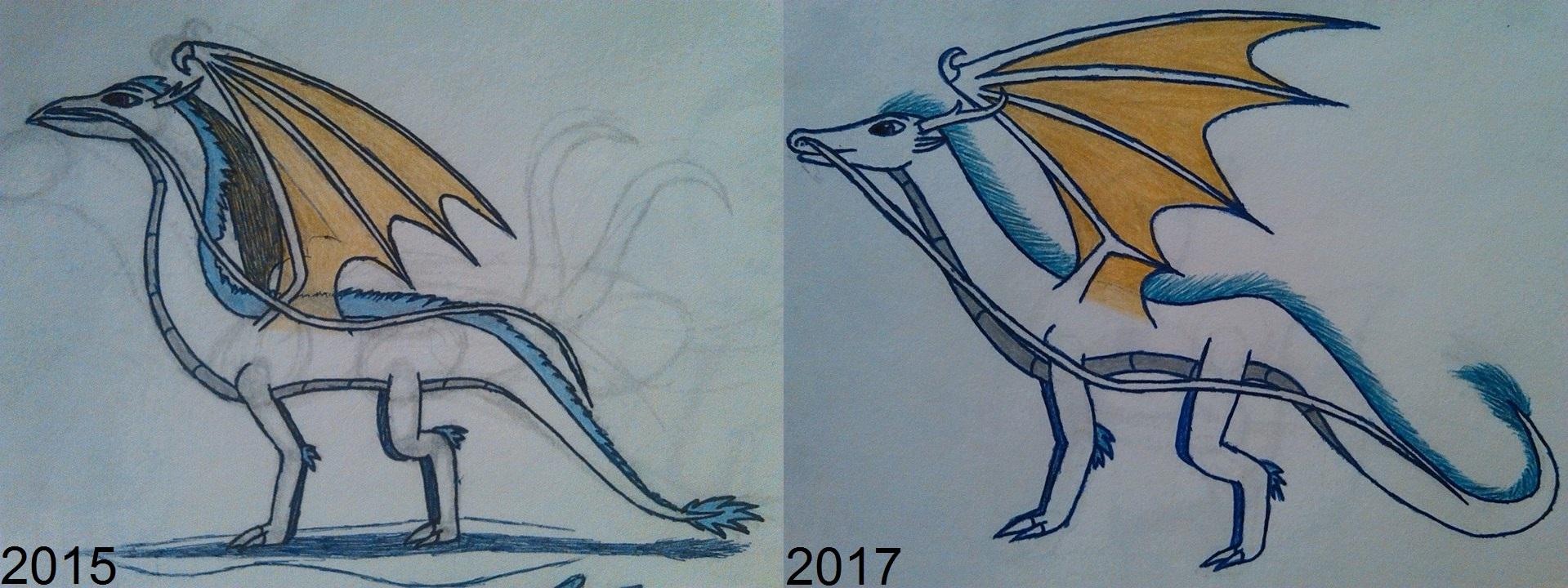 drawing_comparison__chragon_v2_by_dragon